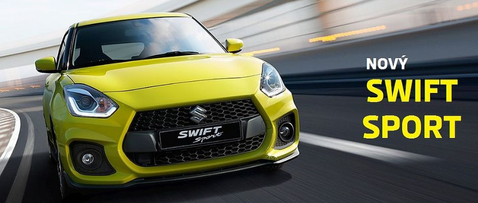 Nový SWIFT SPORT